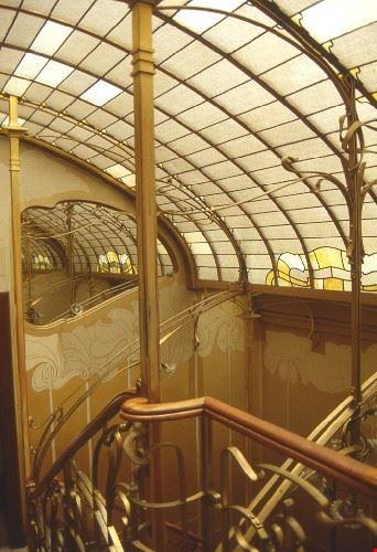 Interno del museo Horta