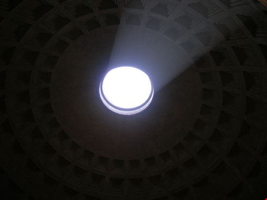 Pantheon: oculo del soffitto