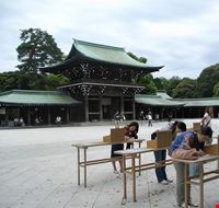 tokyo santuario meiji a tokyo