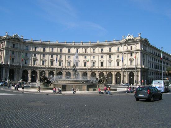 Piazza della repubblica roma for Sito della repubblica
