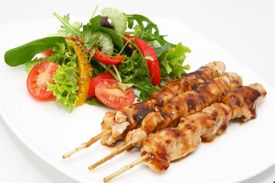 52755 bangkok specialita tailandese spiedini di pollo chicken satay