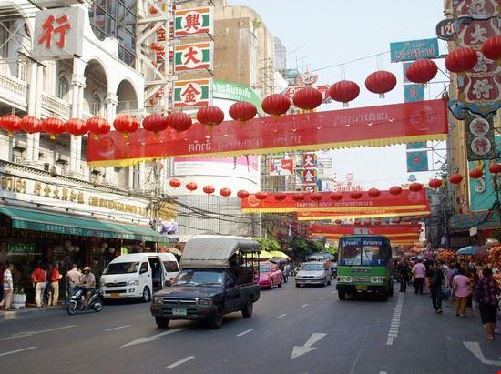 52759 bangkok yaowarat road centro della china town di bangkok