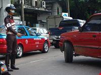 Polizia a Bangkok