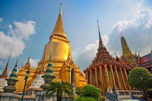 bangkok tempio pho o del buddha sdraiato a bangkok