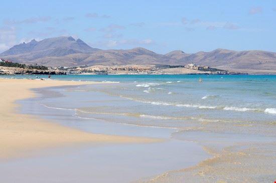 Playa de Sotavento a Fuerteventura