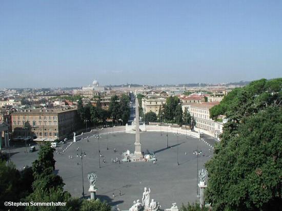 Il Pincio - Parchi e giardini a Roma