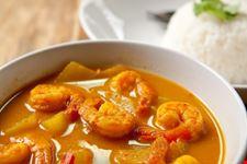 Una pietanzaThai al curry