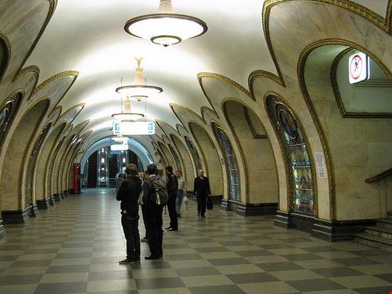 53276 mosca stazione della metropolitana di mosca