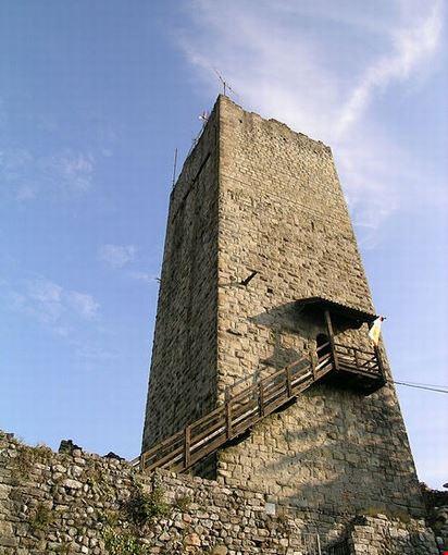 Castel Baradello a Como