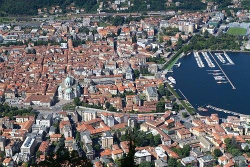 Panorama di Como