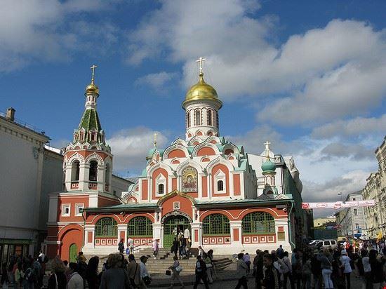 mosca cattedrale di kazan