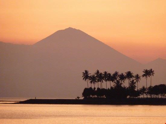 tramonto lombok