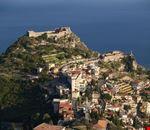 taormina il castello arabo-normanno di taormina