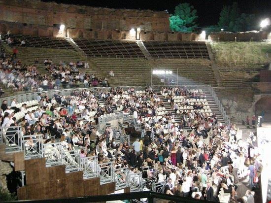 53445 taormina taormina film fest al teatro antico