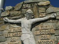 punta helbronner confine italia francia courmayeur