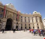 palazzo di hofburg vienna