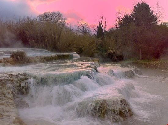 53662 cascate naturali il gorello a saturnia saturnia