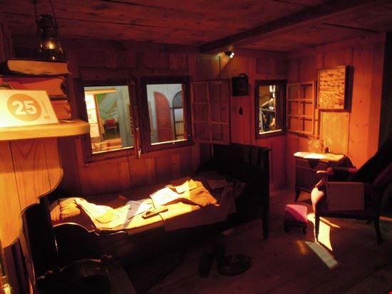 53673 zermatt riproduzione delle case tipiche del vecchio villaggio