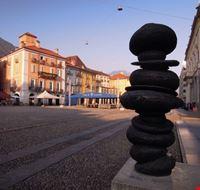 Vista di Piazza Grande a Locarno