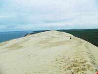 le dune de pilasull oceano atlantico bordeaux