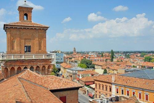 Panorama di Ferrara
