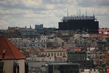 praga nove mesto visto dall  alto