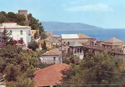 Vista parziale del centro abitato