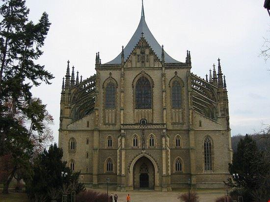 54076 praga cattedrale di santa barbara a kutna hora