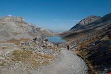 leukerbad percorso per il lago dauben