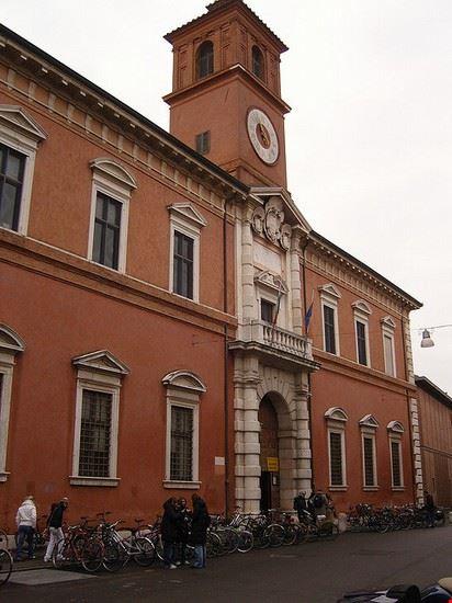 Palazzo Paradiso a Ferrara