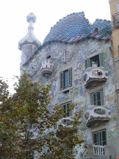 facciata casa battlò