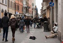 Una via centrale di Rimini