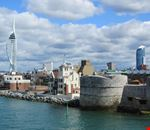 Portsmouth e la Spinnaker Tower
