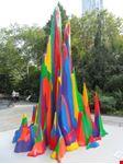 scultura  al city all park new york