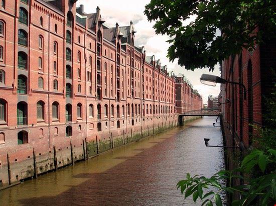 54906 amburgo magazzini navali speicherstadt ad amburgo