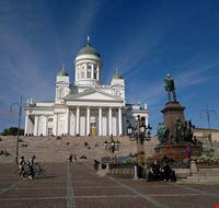 helsinki piazza del senato e cattedrale