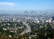 los angeles downtown los angeles dalla mulholland drive