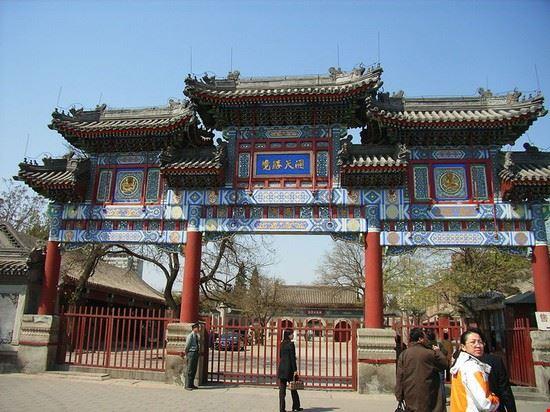 pechino tempio della nuvola bianca pechino