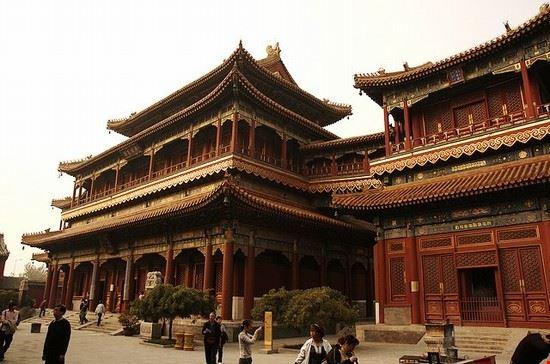 55056 pechino tempio dei lama pechino
