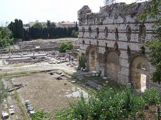 55091 nizza rovine romane nel quartiere di cimiez a nizza