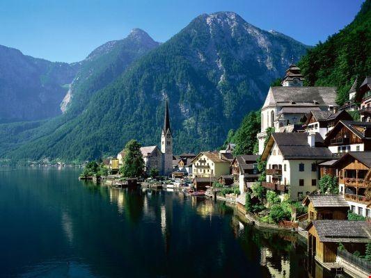 55127 salisburgo tipico paesaggio austriaco