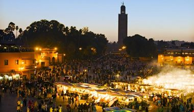 marrakech piazza djemaa el fna marrakech