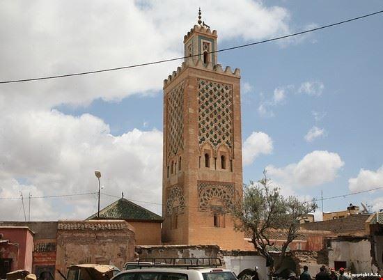 55262 marrakech moschea di ben salah