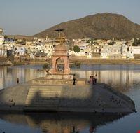 Tramonto  a Pushkar