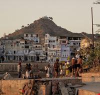 La vita sui ghat di Pushkar