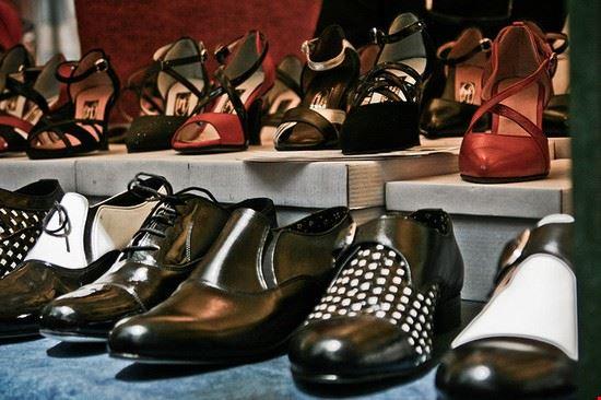 buenos aires scarpe da tango alla feria de mataderos