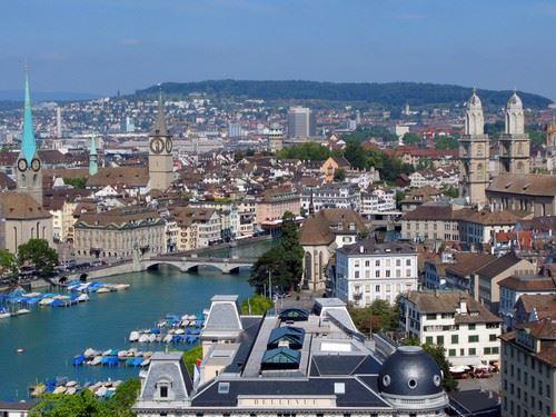 Panorama di Zurigo