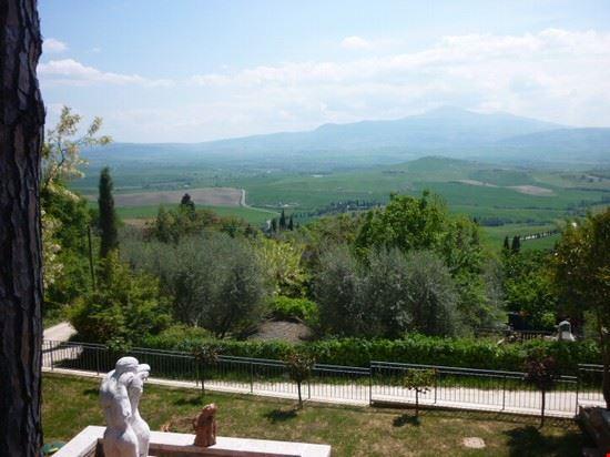 Valdorcia- panorama da Monticchiello