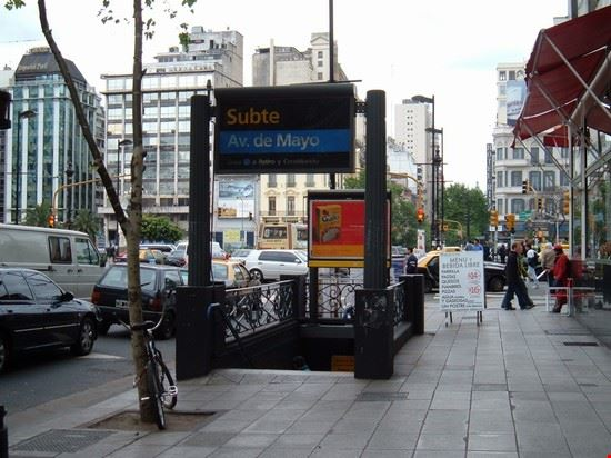 buenos aires stazione della metropolitana di buenos aires