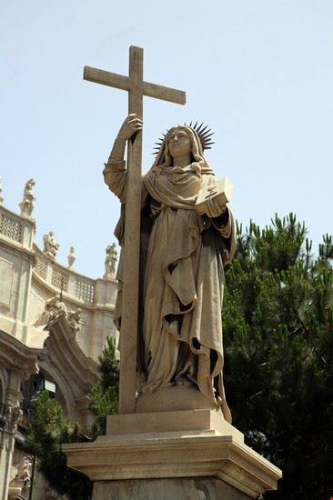 Statua di Sant'Agata